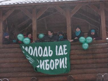 Молодь іде на вибори, Полтава 2009-2010