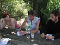 Тренінг для громадських діячів з навчання дорослих. Кованьківка, літо 2011.