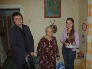 Волонтери ПФССУ і Янко Марія Дмитрівна
