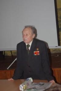 колишній в'язень концтабору С.І. Рибалка