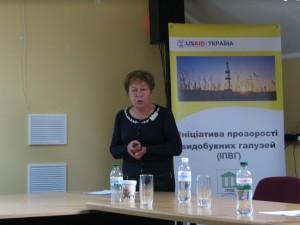 Людмила Бордак, головний геолог  ДП Український геологічний науково-виробничий центр