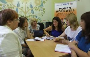 WOMEN WORK WELL від креативної ідеї до активної дії