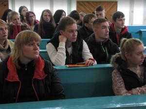 Зустріч зі студентами та викладачами Полтавського національного педагогічного університету