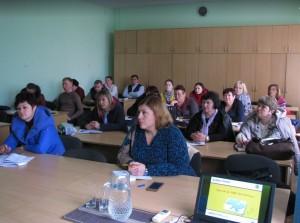 24 жовтня розповіли землевпорядникам Полтавської області, які навчаються в Полтавському обласному центрі перепідготовки та підвищення кваліфікації працівників органів державної влади