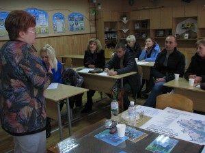 У смт Чутове відбувся семінар Визначення пріоритетів розвитку громад та складання проектних заявок