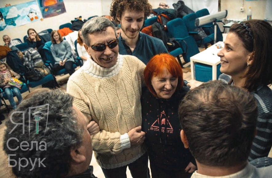 Театр Сучасного діалогу  в Харькові на фестивалі Я і Села Брук
