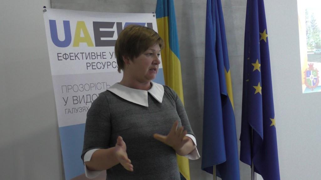 Наталія Сердюк- Круглий стіл. Управління ресурсами: децентралізація, рента, видобуток
